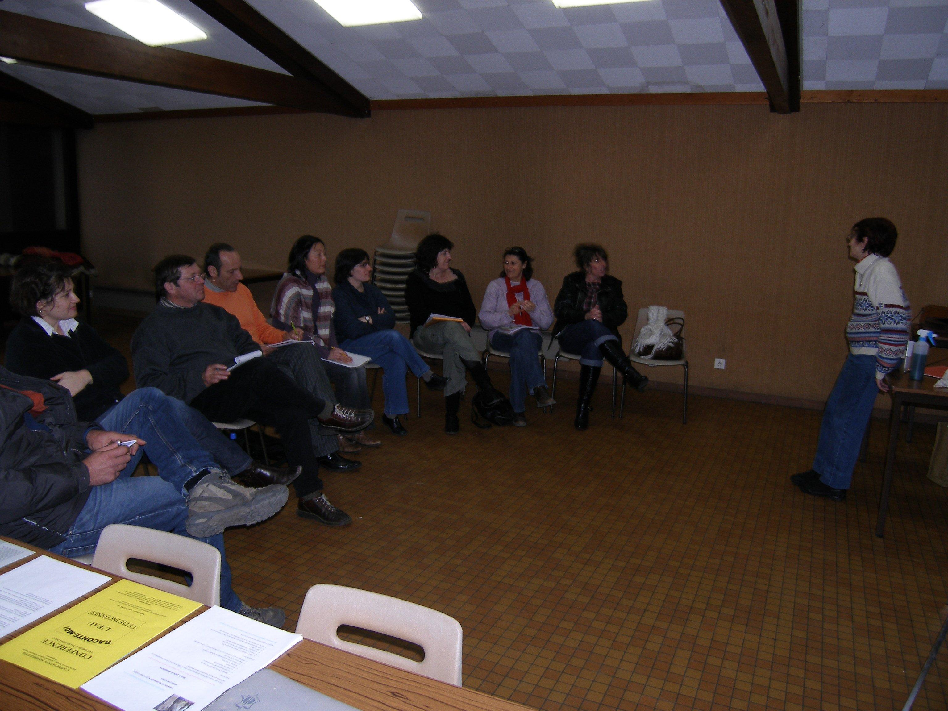 Conférence du vendredi 12 janvier 2009